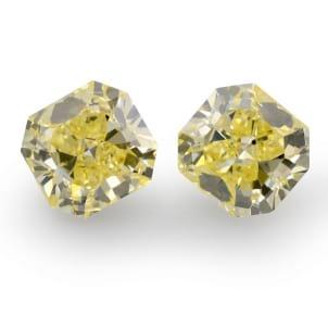 Камень без оправы, бриллиант Цвет: Желтый, Вес: 6.08 карат