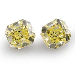 Камень без оправы, бриллиант Цвет: Желтый, Вес: 6.06 карат