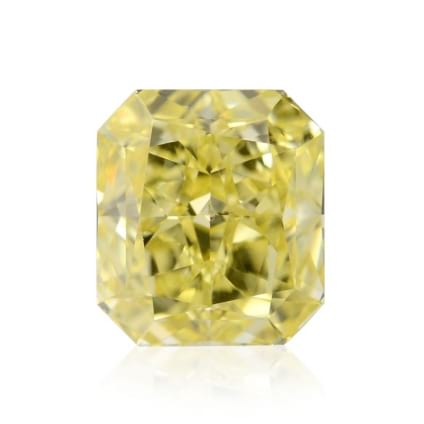 Камень без оправы, бриллиант Цвет: Желтый, Вес: 1.11 карат