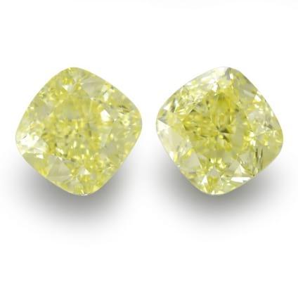 Камень без оправы, бриллиант Цвет: Желтый, Вес: 2.41 карат