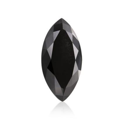 Камень без оправы, бриллиант Цвет: Черный, Вес: 4.58 карат