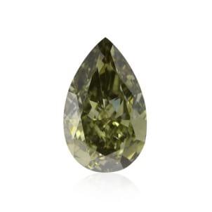 Камень без оправы, бриллиант Цвет: Хамелеон, Вес: 1.14 карат