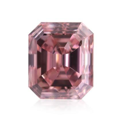Камень без оправы, бриллиант Цвет: Розовый, Вес: 0.39 карат