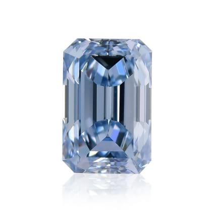 Камень без оправы, бриллиант Цвет: Голубой, Вес: 0.50 карат