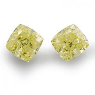 Камень без оправы, бриллиант Цвет: Желтый, Вес: 2.12 карат