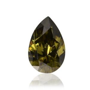 Камень без оправы, бриллиант Цвет: Желтый, Вес: 0.25 карат