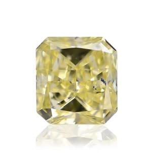 Камень без оправы, бриллиант Цвет: Желтый, Вес: 0.32 карат