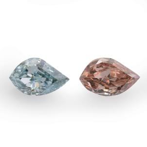Камень без оправы, бриллиант Цвет: Микс, Вес: 0.38 карат
