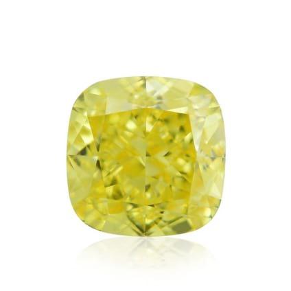Камень без оправы, бриллиант Цвет: Желтый, Вес: 1.13 карат