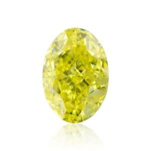 Камень без оправы, бриллиант Цвет: Желтый, Вес: 1.08 карат