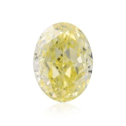 Камень без оправы, бриллиант Цвет: Желтый, Вес: 0.81 карат