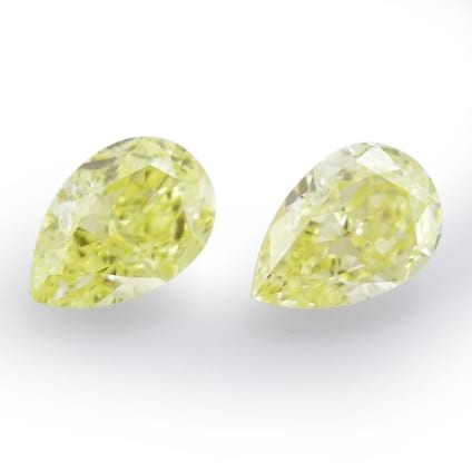 Камень без оправы, бриллиант Цвет: Желтый, Вес: 1.00 карат