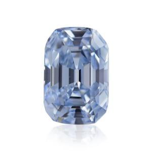 Камень без оправы, бриллиант Цвет: Голубой, Вес: 0.79 карат