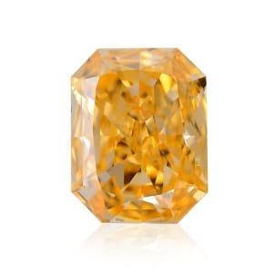 Камень без оправы, бриллиант Цвет: Оранжевый, Вес: 0.48 карат