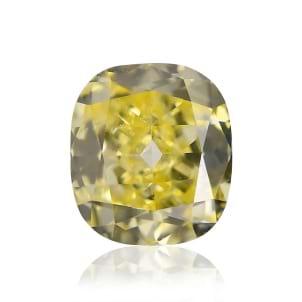 Камень без оправы, бриллиант Цвет: Желтый, Вес: 0.31 карат