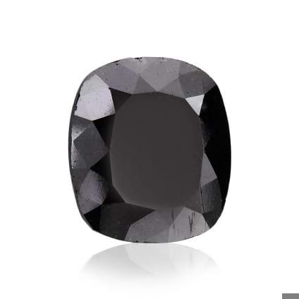 Камень без оправы, бриллиант Цвет: Черный, Вес: 5.14 карат