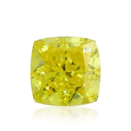 Камень без оправы, бриллиант Цвет: Желтый, Вес: 0.75 карат