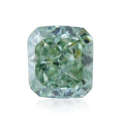 Камень без оправы, бриллиант Цвет: Зеленый, Вес: 0.70 карат