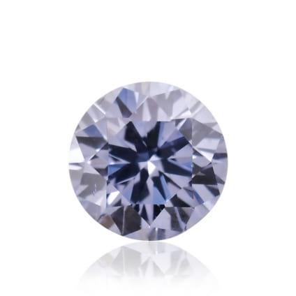 Камень без оправы, бриллиант Цвет: Фиолетовый, Вес: 0.09 карат