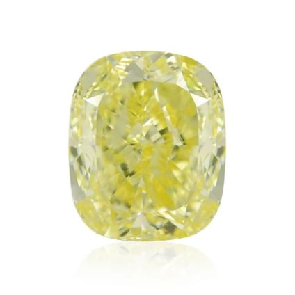 Камень без оправы, бриллиант Цвет: Желтый, Вес: 5.02 карат