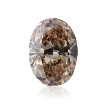 Камень без оправы, бриллиант Цвет: Коричневый, Вес: 1.26 карат