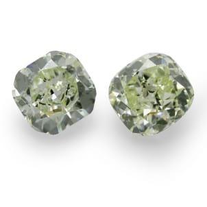 Камень без оправы, бриллиант Цвет: Зеленый, Вес: 3.98 карат