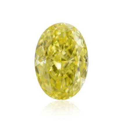 Камень без оправы, бриллиант Цвет: Желтый, Вес: 0.83 карат