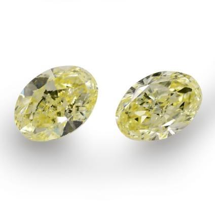 Камень без оправы, бриллиант Цвет: Желтый, Вес: 5.23 карат