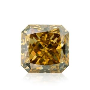 Камень без оправы, бриллиант Цвет: Желтый, Вес: 4.10 карат