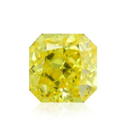 Камень без оправы, бриллиант Цвет: Желтый, Вес: 0.73 карат