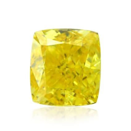 Камень без оправы, бриллиант Цвет: Желтый, Вес: 0.78 карат