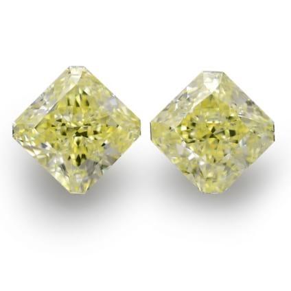 Камень без оправы, бриллиант Цвет: Желтый, Вес: 11.76 карат