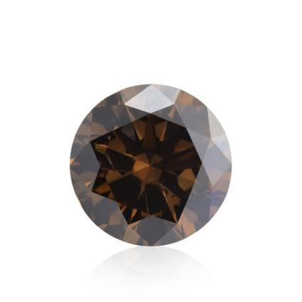 Камень без оправы, бриллиант Цвет: Коричневый, Вес: 1.23 карат