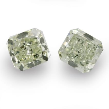 Камень без оправы, бриллиант Цвет: Зеленый, Вес: 3.17 карат