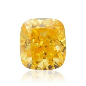 Камень без оправы, бриллиант Цвет: Оранжевый, Вес: 0.31 карат
