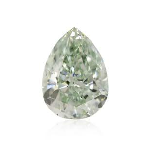 Камень без оправы, бриллиант Цвет: Зеленый, Вес: 0.32 карат
