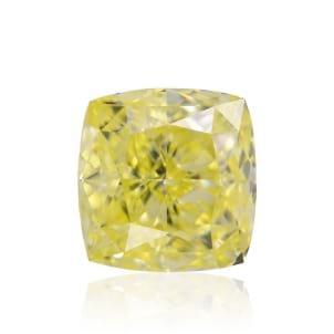 Камень без оправы, бриллиант Цвет: Желтый, Вес: 2.07 карат
