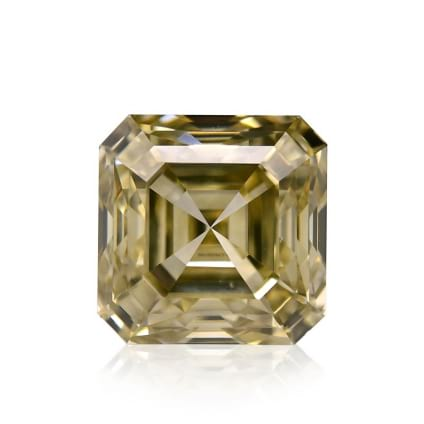 Камень без оправы, бриллиант Цвет: Желтый, Вес: 1.54 карат