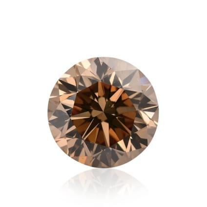 Камень без оправы, бриллиант Цвет: Коричневый, Вес: 5.25 карат