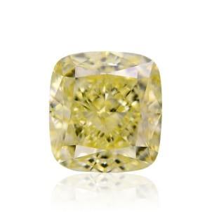 Камень без оправы, бриллиант Цвет: Желтый, Вес: 2.31 карат