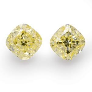 Камень без оправы, бриллиант Цвет: Желтый, Вес: 7.83 карат