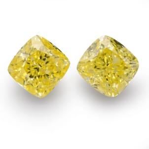 Камень без оправы, бриллиант Цвет: Желтый, Вес: 5.24 карат