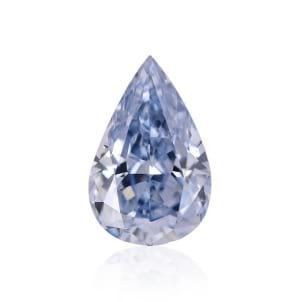 Камень без оправы, бриллиант Цвет: Голубой, Вес: 0.54 карат