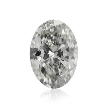 Камень без оправы, бриллиант Цвет: Серый, Вес: 0.90 карат