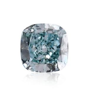 Камень без оправы, бриллиант Цвет: Зеленый, Вес: 0.26 карат