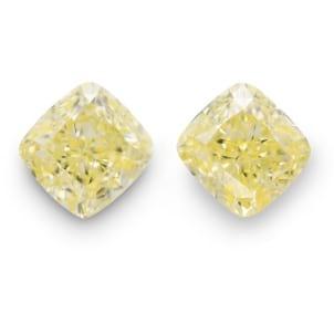 Камень без оправы, бриллиант Цвет: Желтый, Вес: 2.35 карат