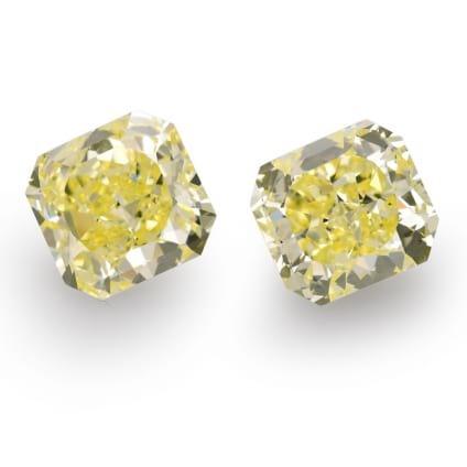Камень без оправы, бриллиант Цвет: Желтый, Вес: 10.39 карат