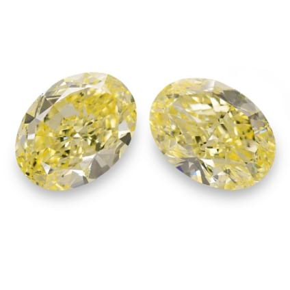 Камень без оправы, бриллиант Цвет: Желтый, Вес: 26.85 карат