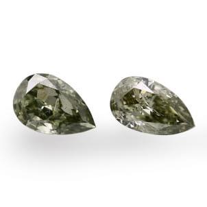 Камень без оправы, бриллиант Цвет: Микс, Вес: 0.55 карат