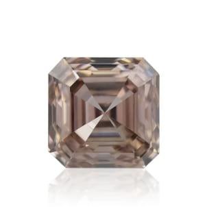 Камень без оправы, бриллиант Цвет: Коричневый, Вес: 0.43 карат